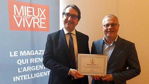 Christophe Inizan, Directeur Commercial La Française et Arnaud Christol Responsable Commercial La Française