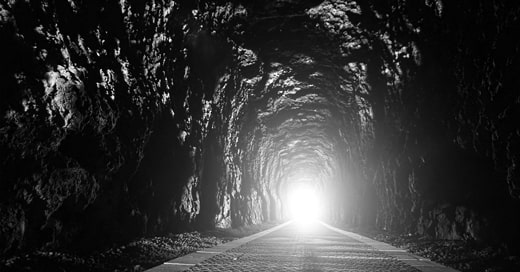 There's light at the end of the tunnel…
